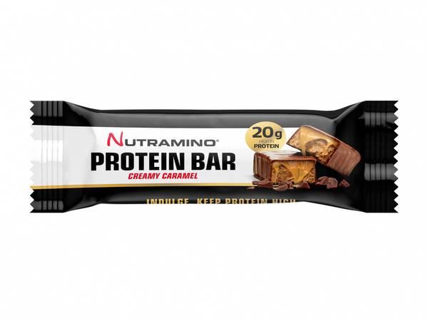 Bilde av Nutramino Proteinbar - Creamy Caramel 64g