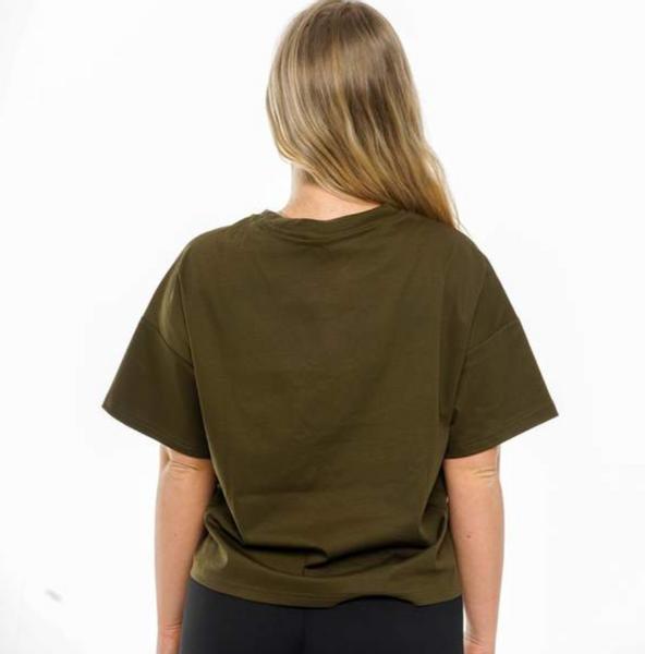 Bilde av BARA Sportswear - Khaki Oversized Eco T-shirt