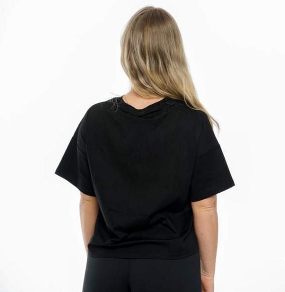 Bilde av BARA Sportswear - Black Oversized Eco T-shirt