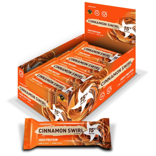 Bilde av Maximuscle - Proteinbar - Cinnamon Swirl 45g