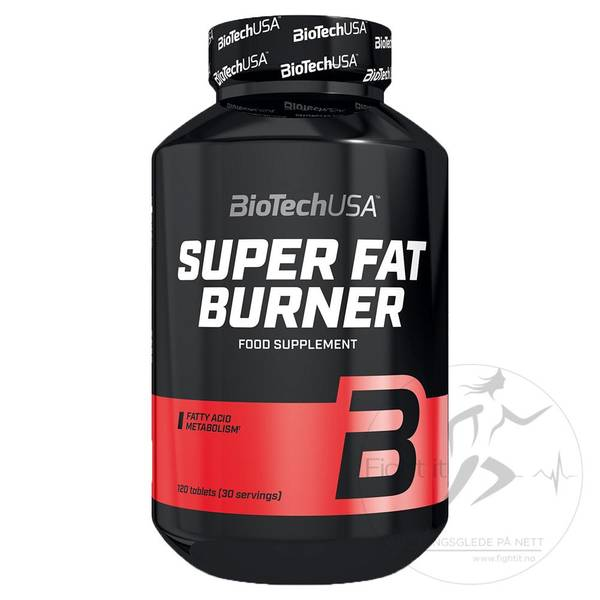 Bilde av BioTechUSA - Super Fat Burner 120 kap.