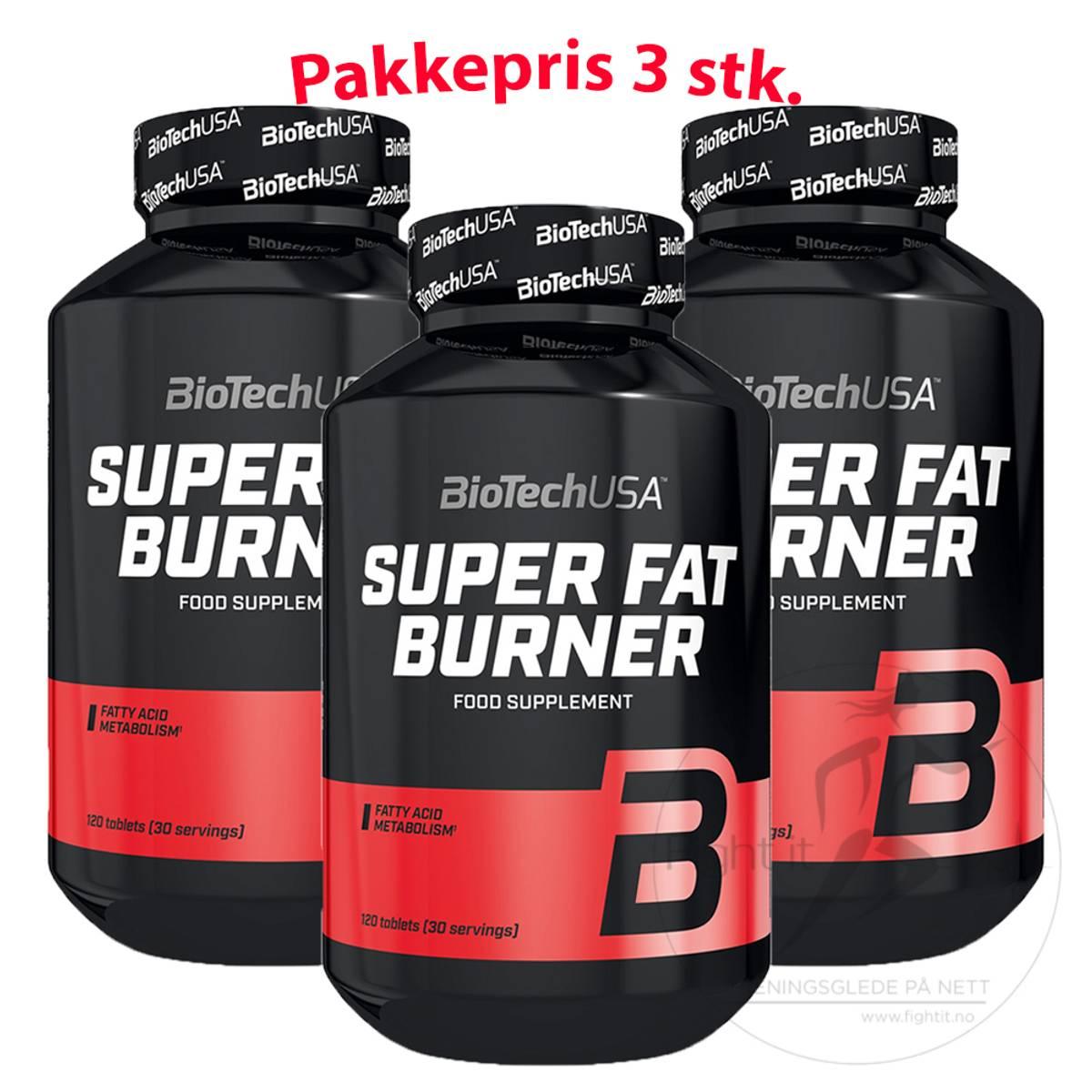 BioTechUSA - Super Fat Burner 120 kap.