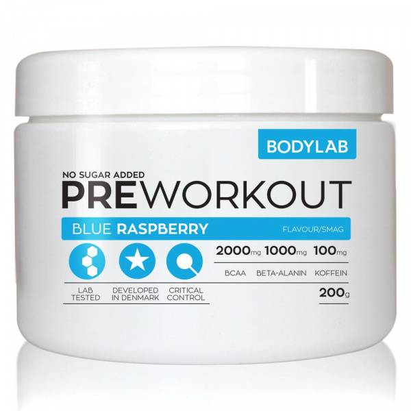 Bilde av Bodylab - Pre-Workout (3x200g)