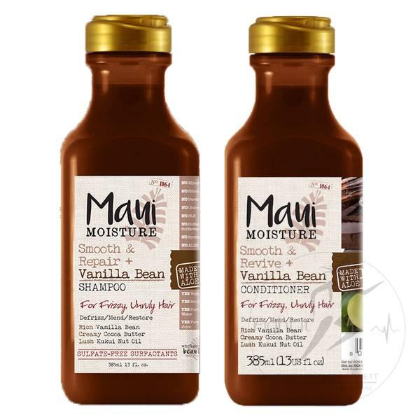Bilde av Maui - Smooth & Revive + Vanilla Bean Shampoo 385ml