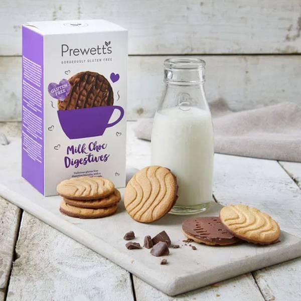 Bilde av Prewetts - Milk Choc Digestives 165g