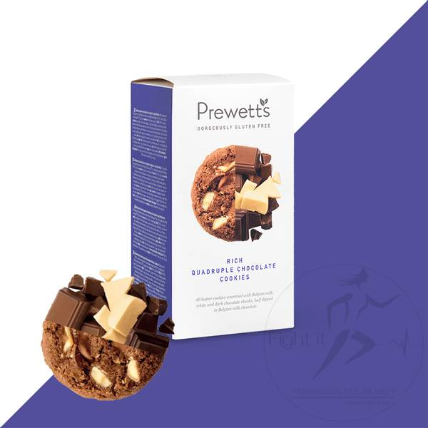 Bilde av Prewetts - Rich Quadruple Chocolate Cookies 150g