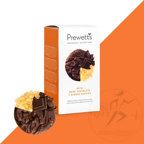 Bilde av Prewetts - Spicy Dark Chocolate + Ginger Cookies 150g