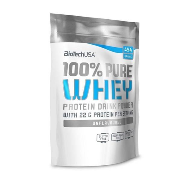 Bilde av BiotechUSA - 100% Pure Whey - Natural 454g
