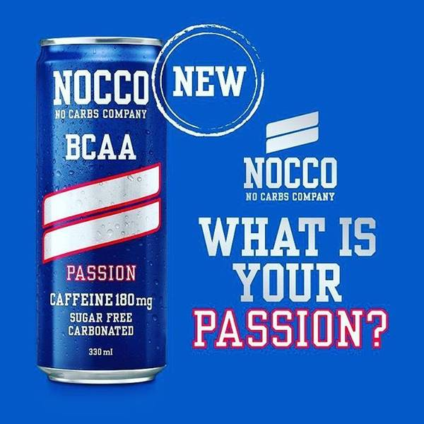 Bilde av Nocco BCAA - Passion 330ml