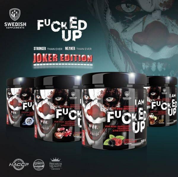 Bilde av Swedish Supplements - Fucked Up Joker Edition 300g