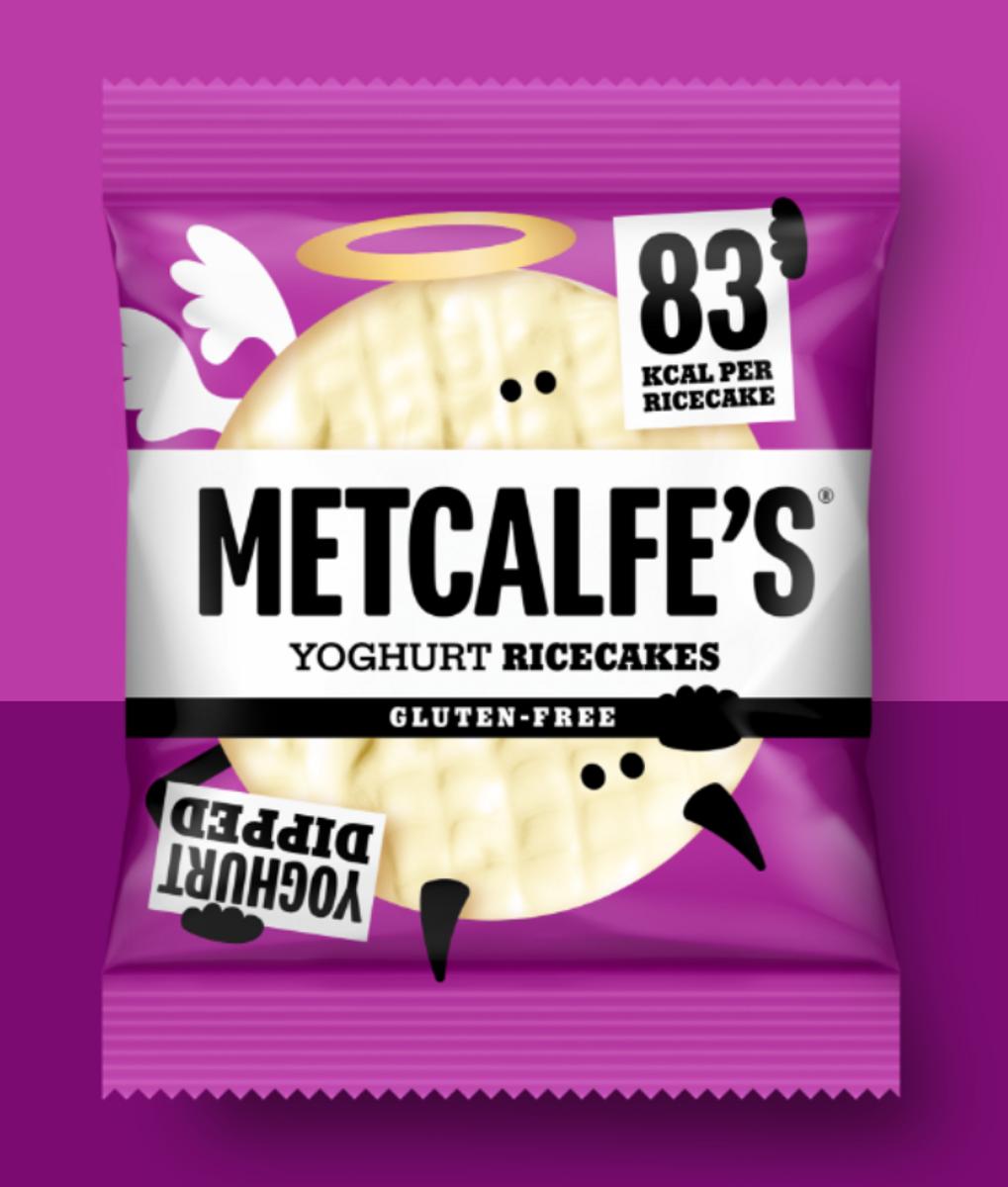 Metcalfe`s - Riskaker Mørk Sjokolade 34g