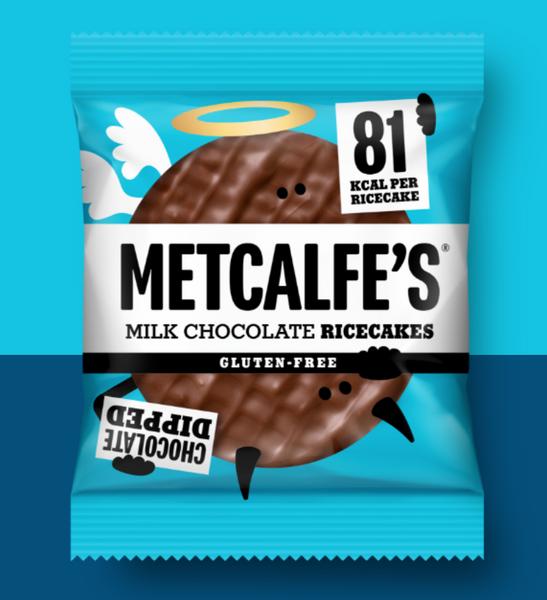 Bilde av Metcalfe`s - Riskaker Mørk Sjokolade 34g