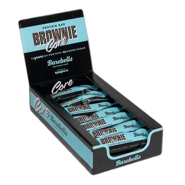 Bilde av Barebells - Core Proteinbar - Brownie (18x35g)