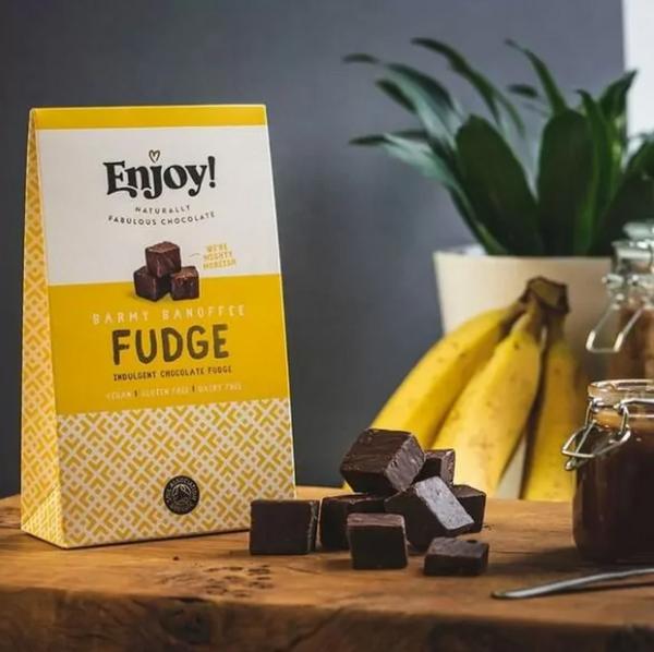 Bilde av Enjoy - Velvety Vanilla Fudge Caramel 100g