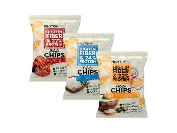 Bilde av FCB Sweden - ProteinPro Chips 50g