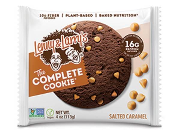 Bilde av Lenny & Larry`s Complete Cookies - Salted Caramel (12x113g)