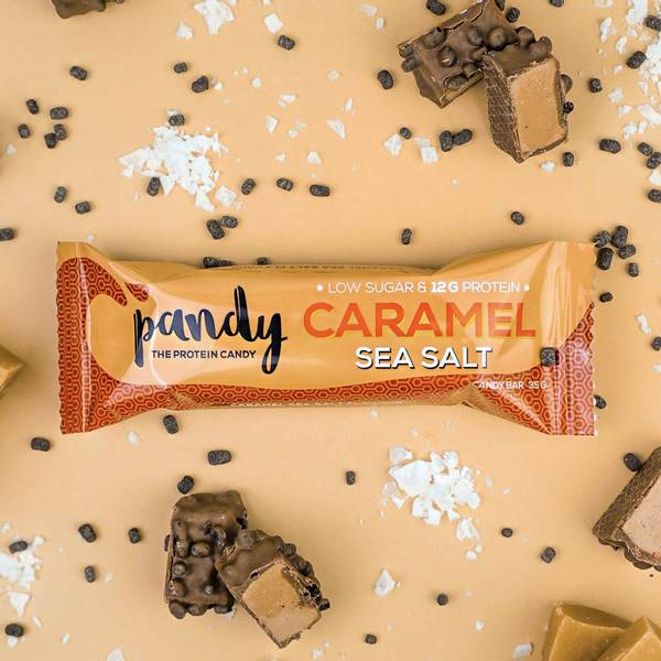 Bilde av Pandy Protein - Candy Bar Caramel Sea Salt 35g