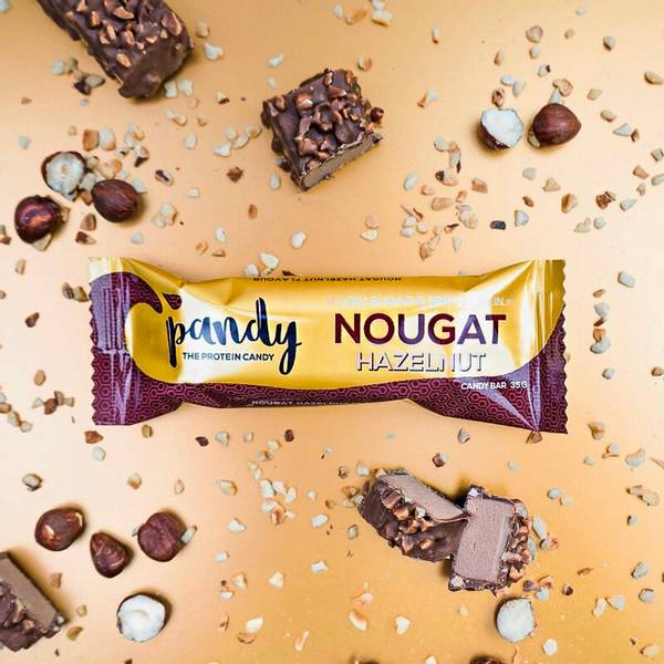 Bilde av Pandy Protein - Candy Bar Nougat Hazelnut 35g