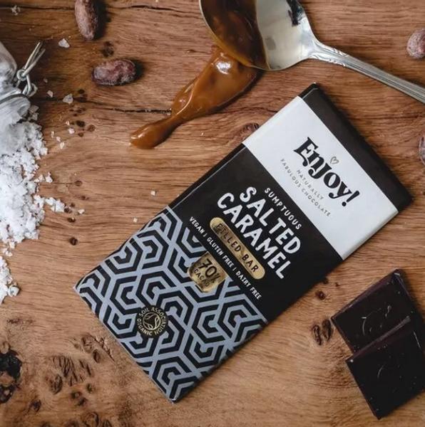 Bilde av Enjoy - Mint Caramel Chocolate 70g