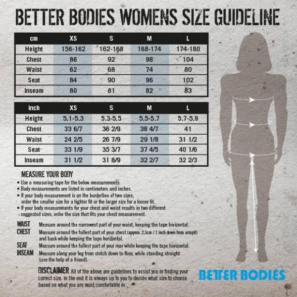 Bilde av Better Bodies - Manhattan Tights - Multi Print