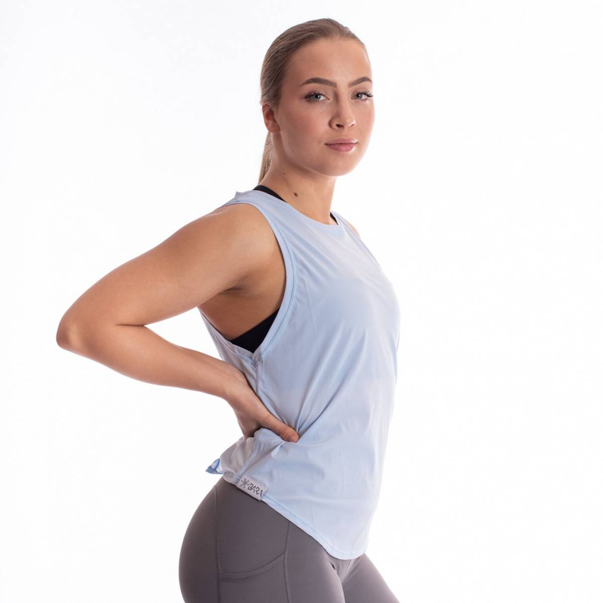 BARA Sportswear - Knot Tank Top - Sky