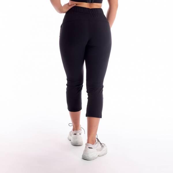 Bilde av BARA Sportsewear - Solar Cropped Pants - Black