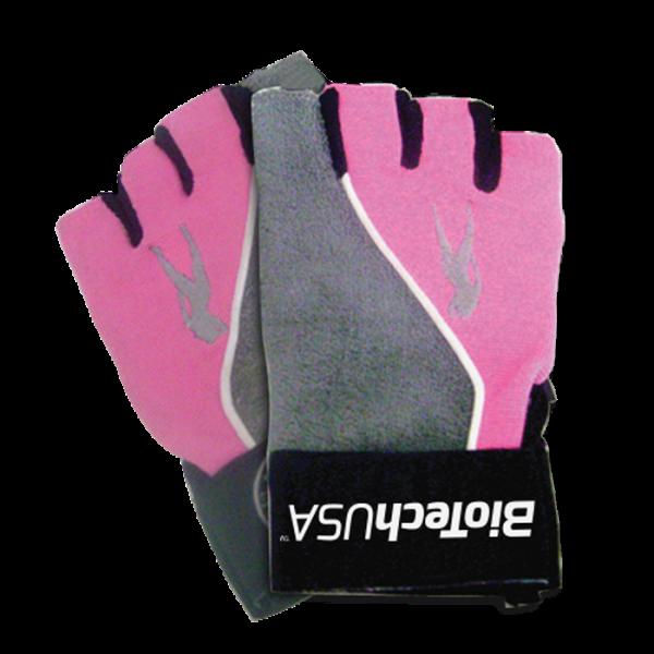 Bilde av BiotechUSA - PinkFit Gloves - Grey/Pink