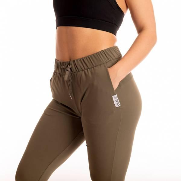 Bilde av BARA Sportsewear - Solar Cropped Pants - Khaki