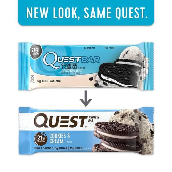 Bilde av Questbar - Cookies & Cream 60g