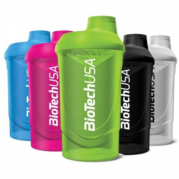Bilde av BiotechUSA - Wave Shaker - Blue 600ml