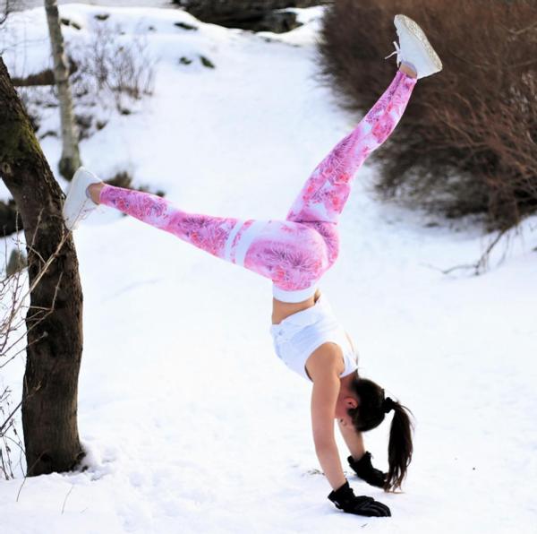 Bilde av BARA Sportswear - Pink Ice Tights