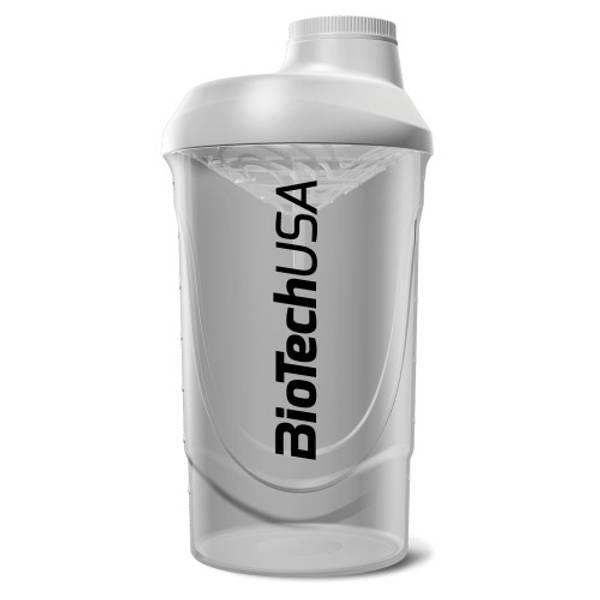 Bilde av BiotechUSA - Wave Shaker - White 600ml