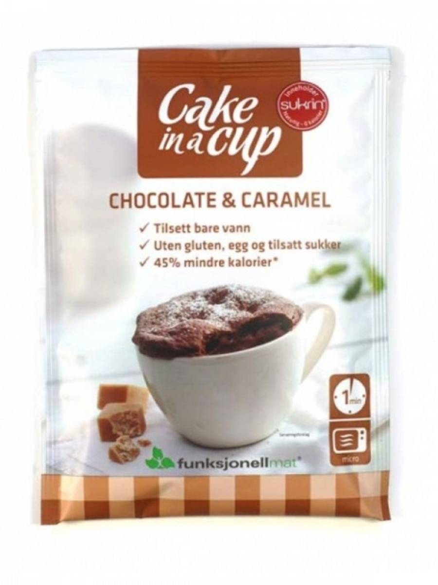 Cake In A Cup - Chocolate & Caramel 75g