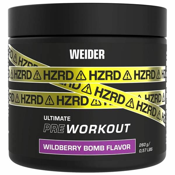 Bilde av Weider - HZRD Ultimate Pre-Workout - Wildberry Bomb 260g