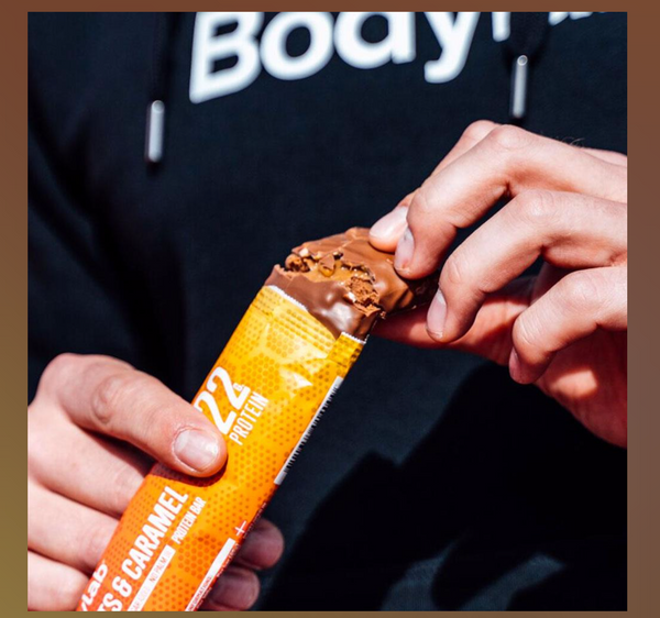 Bilde av Bodylab - Peanuts & Caramel Proteinbar (12x65g)