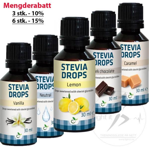 Bilde av Stevia Drops 30ml