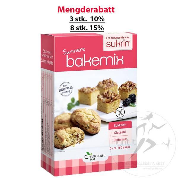 Bilde av Sunnere Bakemix - Gluten og Sukkerfri 340g
