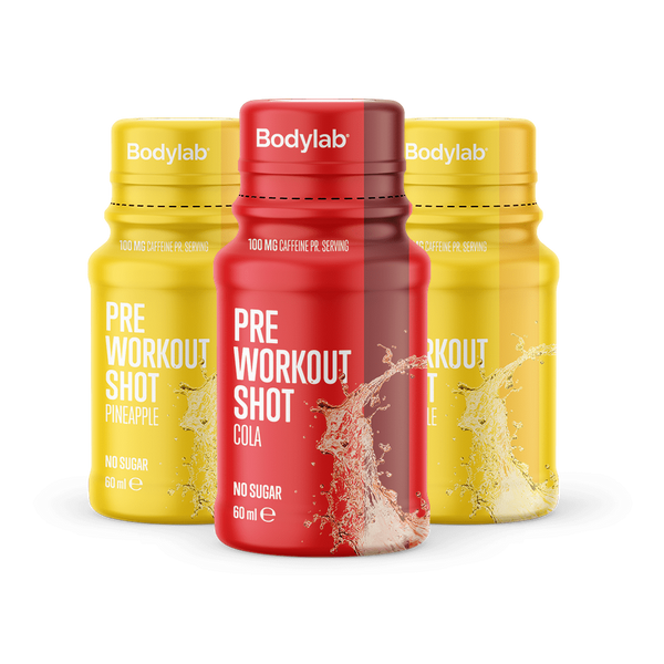Bilde av Bodylab - Pre Workout Shot - Pineapple (12x60ml)