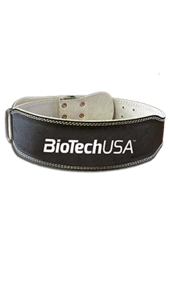 Bilde av BiotechUSA - Leather Belt Black
