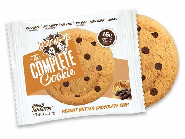 Bilde av Lenny & Larry`s - Peanut Butter Chocolate Chip (12x113g)
