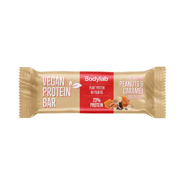 Bilde av Bodylab Vegan Protein Bar  - Peanuts & Caramel (20x40g)