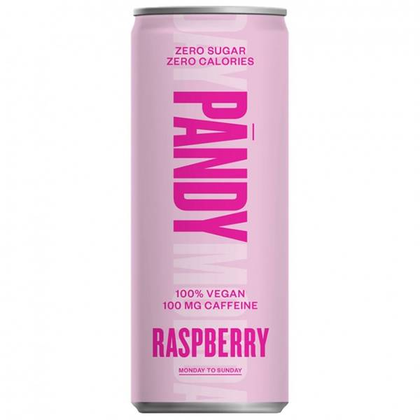 Bilde av Pandy Energy Drink - Raspberry (24x330ml)