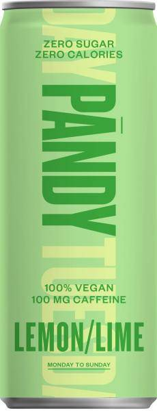 Bilde av Pandy Energy Drink - Lemon & Lime (24x330ml)