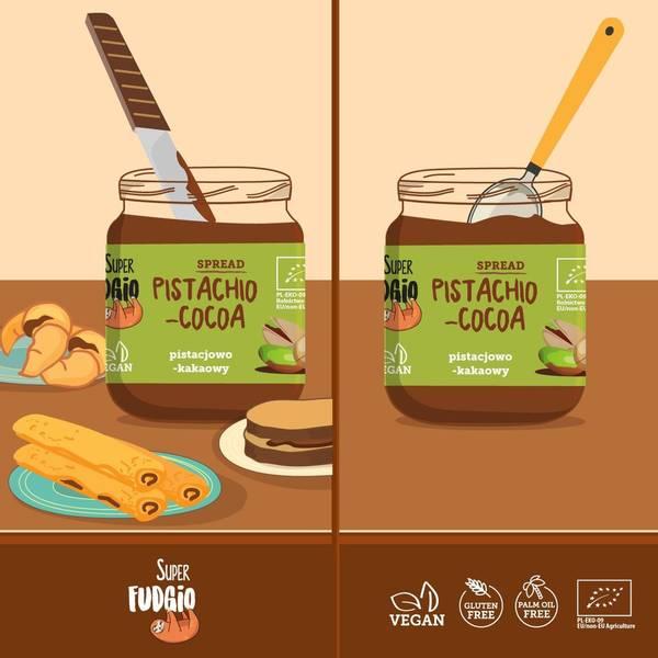 Bilde av Super Fudgio - Sjokoladepålegg 190g