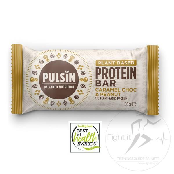 Bilde av Pulsin Protein Bar - Caramel Choc & Peanut 50g