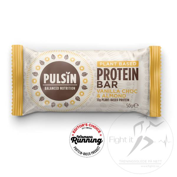 Bilde av Pulsin Protein Bar - Vanilla Choc & Almond 50g