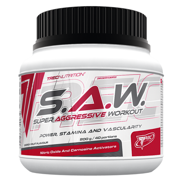 Bilde av Trec Nutrition - S.A.W. Super Aggressive Workout 200g