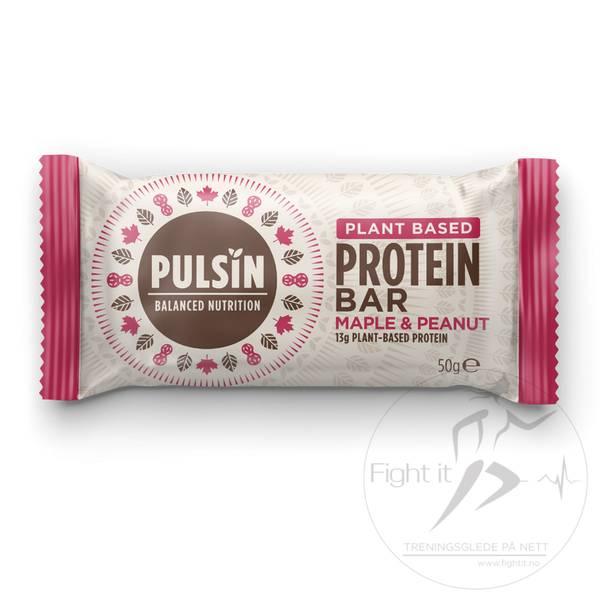 Bilde av Pulsin Protein Bar - Maple & Peanut (12x50g)