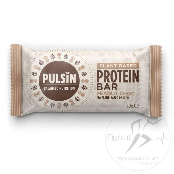 Bilde av Pulsin Protein Bar - Peanut Choc (12x50g)