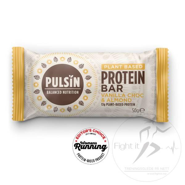 Bilde av Pulsin Protein Bar - Vanilla Choc & Almond (12x50g)